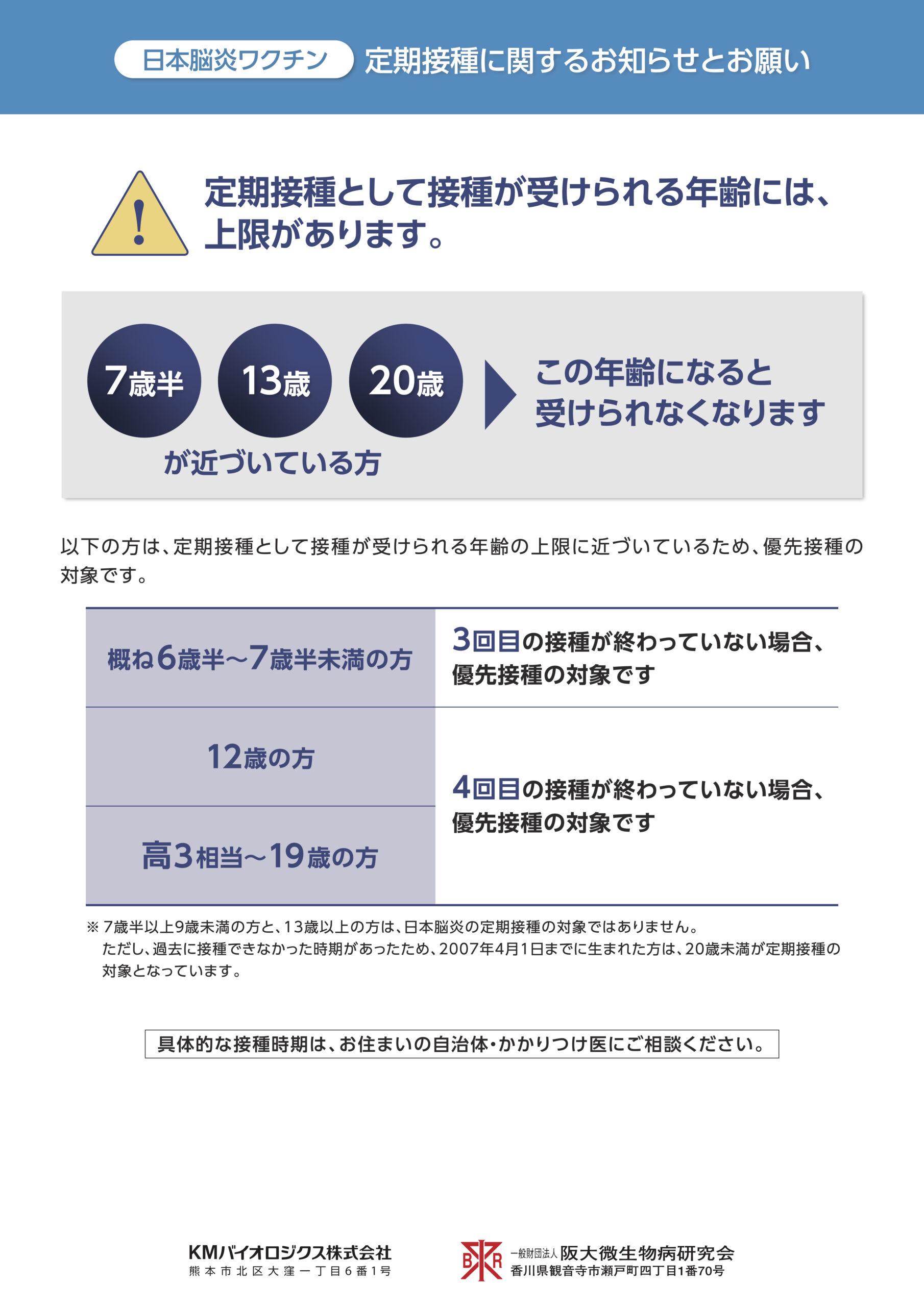 日本脳炎の案内